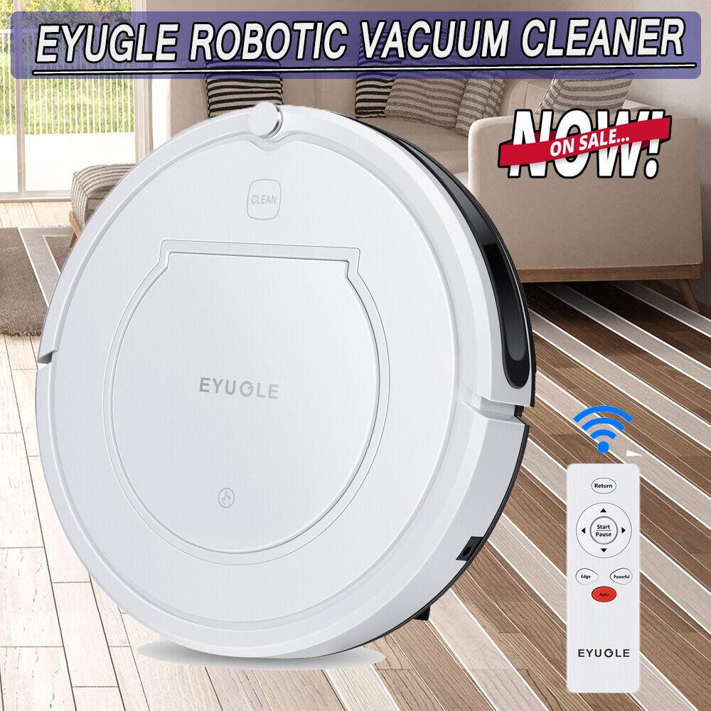 Robotic Vacuum Cleaner 900Pa Suction Quiet Self-Charging Navigation HEPA Filter