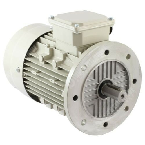 TECO 3 Phase Electric Motors 4 Pole 1500RPM Aluminium IE2 Efficiency