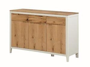 Image Is Loading Dunham Painted Oak Spanish White Large Sideboard 3