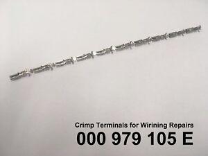 Audi-VW-Skoda-Seat-Porsche-10-x-Wiring-Crimp-Repair-Terminals-Pins-000979105E