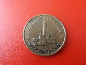 *linciln Memorial Medal /springfield Illinois*medaille 1965/ca.39mm(schub47)