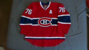 reputable site 464c3 af672 Details about Reebok Edge 2.0 Authentic Montreal Canadiens PK Subban jersey  size 56 Habs