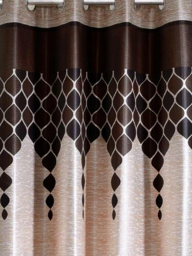 Eyelet Polyester Door Curtains 5//7//9 Feet Indian Traditional Beautiful Handmade