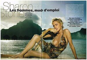 100% De Qualité Coupure De Presse Clipping 2005 (6 Pages) Sharon Stone