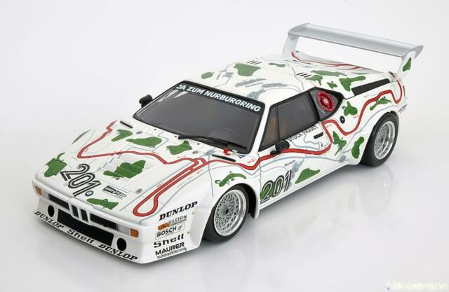 1:18 Minichamps BMW M1 Procar E26 #201, 1000km Nürburgring 1980