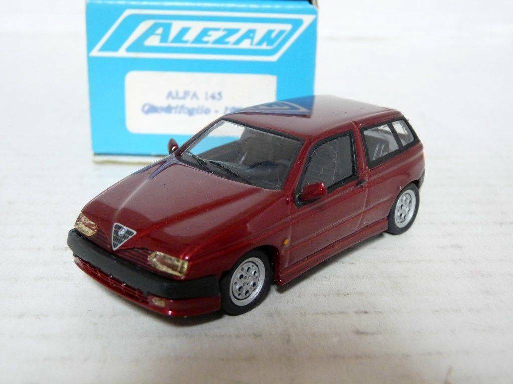 Alezan 242 1 43 1999 Alfa Romeo 145 Quadrifoglio Resin Handmade Model Car Kit
