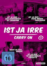 Ist ja irre CARRY ON Box 2 SCHIFFSKOCH Taxifahrer ABGETAKELTE FREGATTE 4 DVD Neu