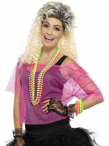 RETE TOP ROSA WOMEN/'S Fancy Dress Costume