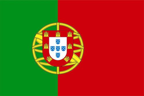 Aufkleber Portugal Flagge Fahne 12 x 8 cm Autoaufkleber