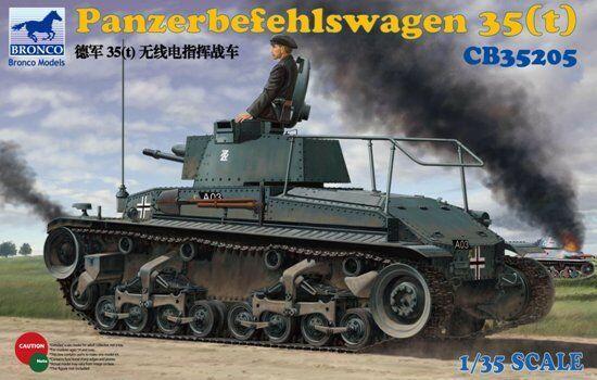 Bronco 1 35 Panzerbefehlswagen 35 (T) Modello Plastica Kit 35205