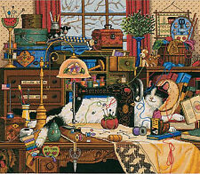 Cross Stitch Kit ~ Gold Collection Charles Wysocki Maggie the Messmaker #3884