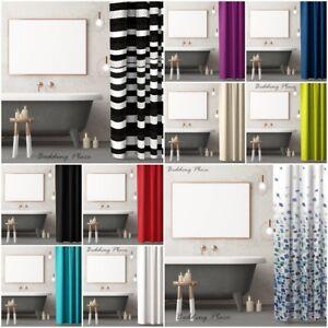 Strict Luxe Moderne Polyester Salle De Bains Rideau De Douche 180 X 180 Cm Rideaux Avec Crochets-afficher Le Titre D'origine