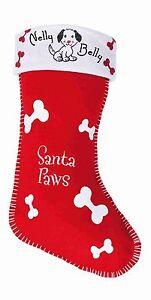 image is loading santa paws dog christmas stocking dogs pet lover - Christmas Pet Names