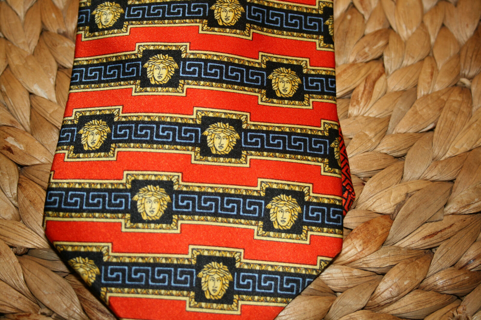 Krawatte von Versace Versace Versace 1x getragen wie neu     | Bunt,  e5f84c