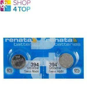 2-Renata-394-sr936sw-Batterien-silber-1-55v-Watch-Swiss-Made-EXP-2021-NEU