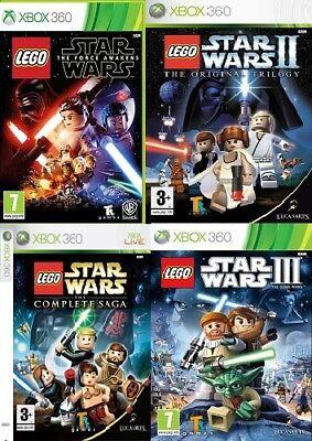 XBOX 360 lego star wars jeux xbox 360 état neuf livraison Super Rapide | eBay