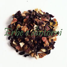 Infuso alla frutta Tisana MANGO MARACUJA 100 gr.  Mela, rosa canina, papaya