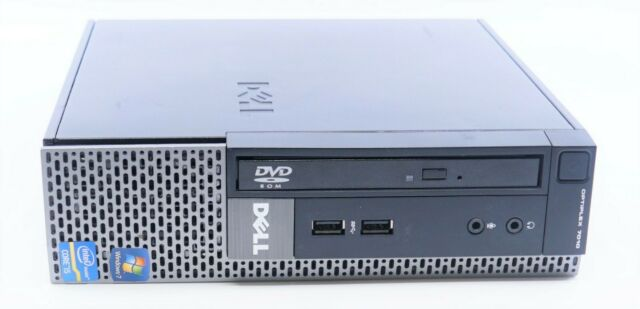 Dell Optiplex 7010 USFF Intel i5-3470S 2.90GHz 4GB DDR3 320GB HDD WIN7COA No OS
