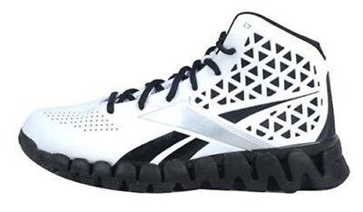 exposición Tomar medicina pérdida  Reebok Men's Zig Slash Basketball Shoes White/Black V43258 Sz 10.5 ...