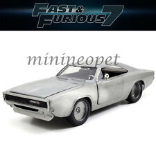 JADA 97336 FAST AND FURIOUS 7 DOM'S 1970 DODGE CHARGER R/T 1/24 BARE METAL