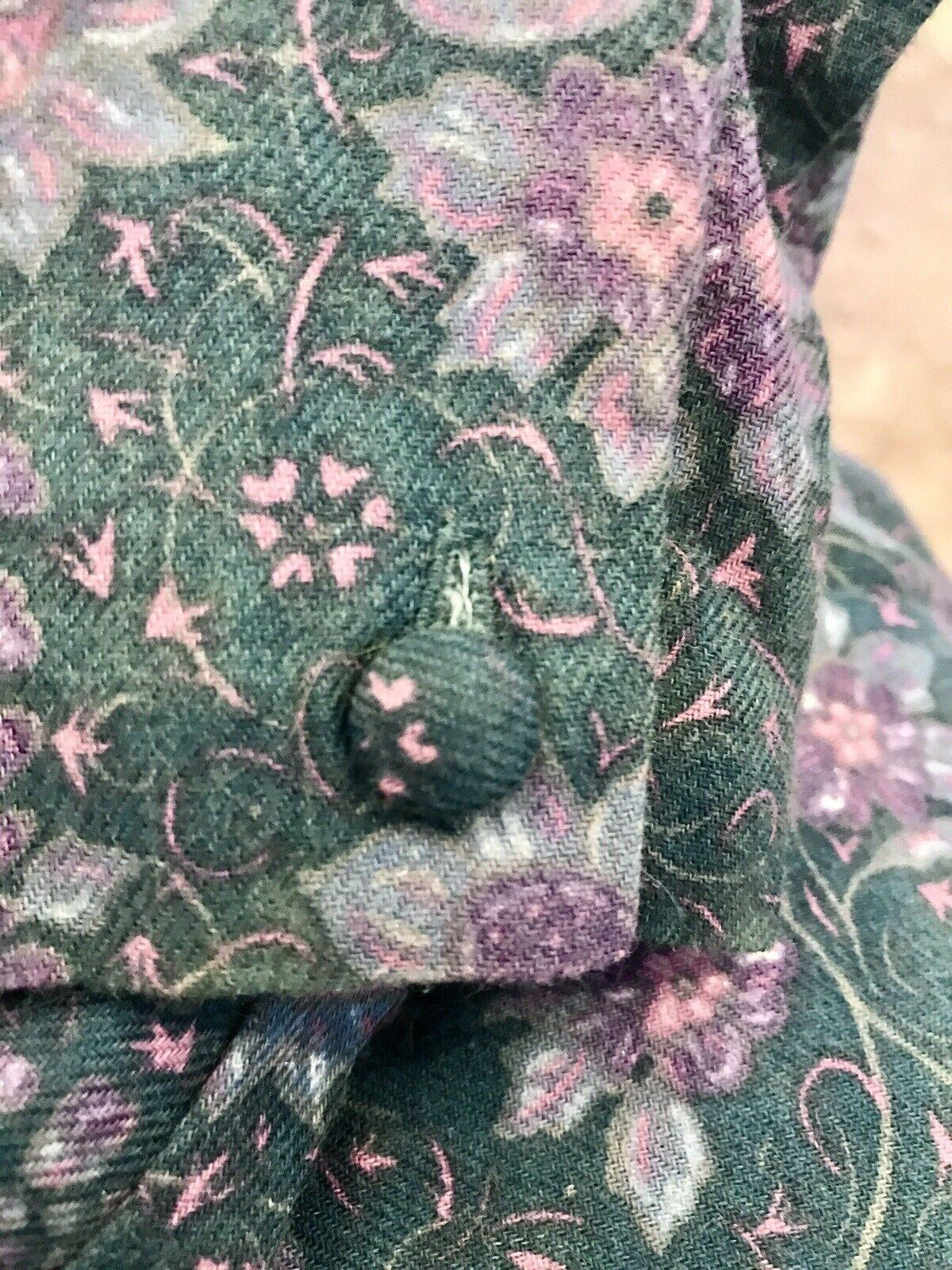 Vintage Laura Ashley 80s 90s Floral French Countr… - image 5