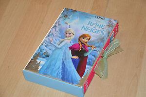 Details Sur Coffret 3 Livres La Reine Des Neiges Collection La Bibliotheque Rose Disney