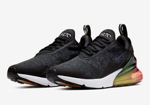 air max 270 black laser orange