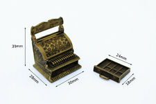 1:12 doll house scenes of life Classic miniature cash register
