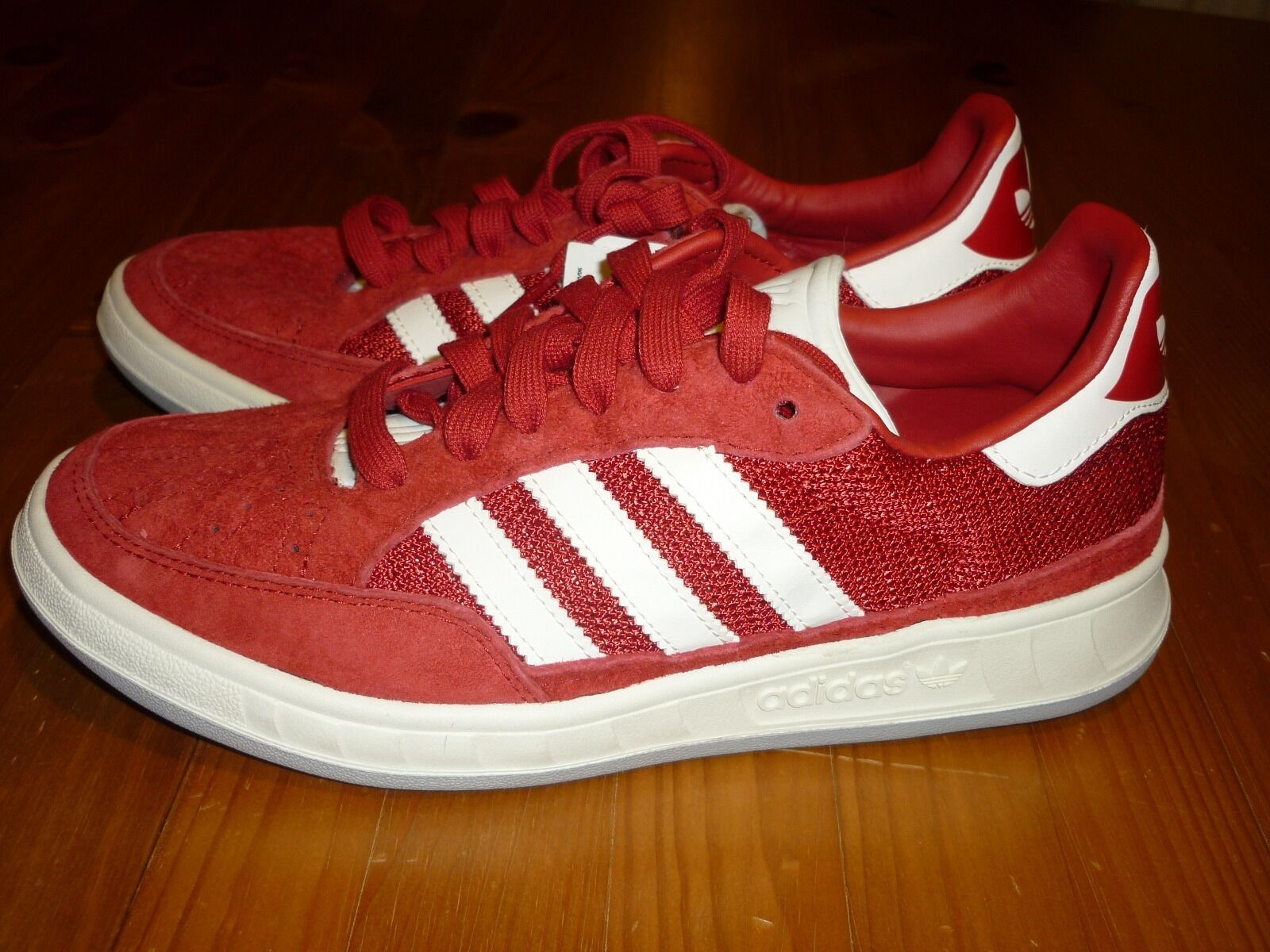 ADIDAS SUISSE TRAINERS 2/3 Talla 4 EUR 36 2/3 TRAINERS BNWT 6ba80d
