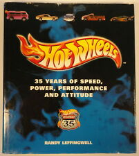 Hot Wheels 35 Years of Speed, Power Hardcover Book HUGE History Photos Top 100