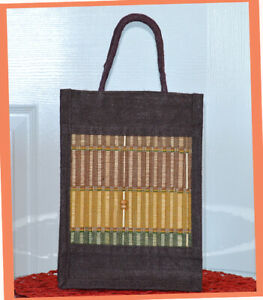 Natural-Eco-Friendly-Brown-Jute-Burlap-Straw-Hand-Woven-Bag-Cotton-Webbed-Handle