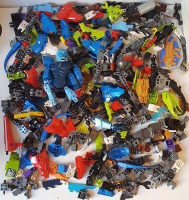 1 Kg pièces de rechange Pièces armes vrac Job Lot Lego Bionicle//Hero Factory