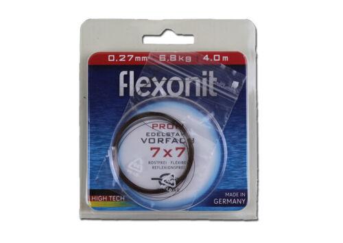 Flexonit Edelstahl-Vorfachmaterial 7x7 4 m