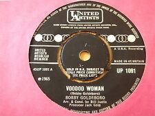 "BOBBY GOLDSBORO - VOODOO WOMAN  7"" VINYL  'Listen'"