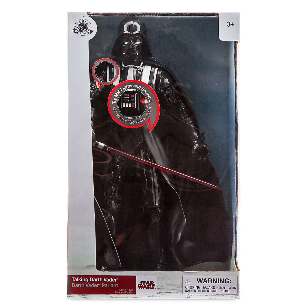 DARTH VADER TALKING ACTION FIGURE 14 1/2 inches - New