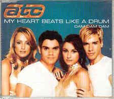 ATC - My Heart Beats Like A Drum, CD-Maxi