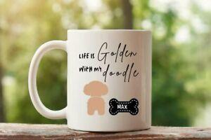 Golden Doodle Gift Doodle Mom Coffee Mug Dog Mom. Doodle Dad Gift Pet Lover Dog