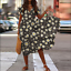 UK-Womens-Holiday-Short-Sleeve-V-Neck-Beach-Dress-Ladies-Party-Club-Maxi-Dresses thumbnail 19