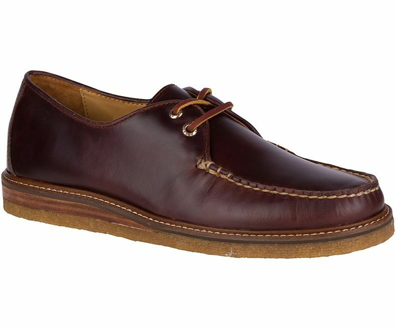 Men Sperry Top-Sider gold Captain's Crepe Oxford, STS16054 Multi Sizes Amaretto