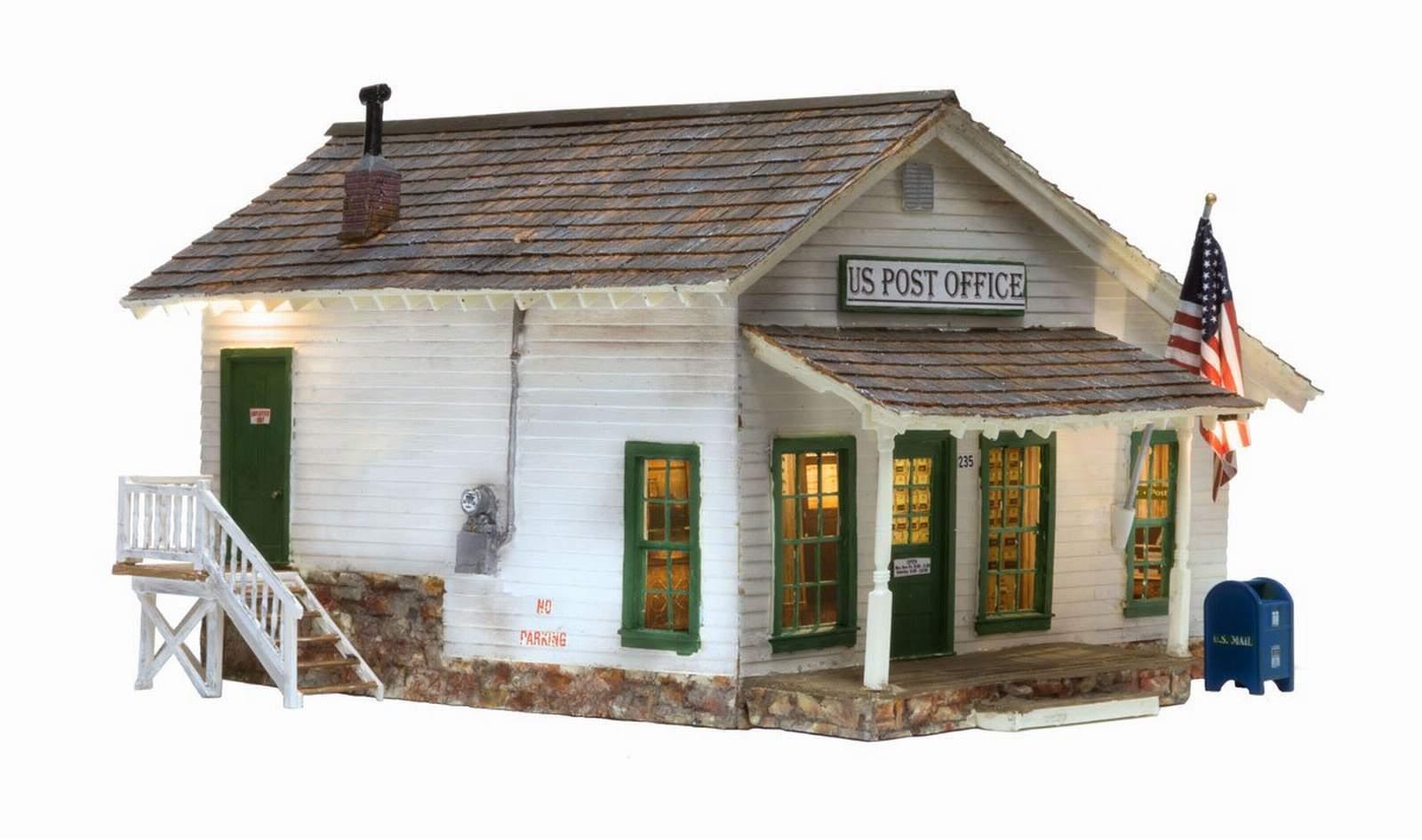calidad fantástica Woodland Scenics construido y listo para cartas, paquetes & & & Post-Post Office o escala  tienda hace compras y ventas