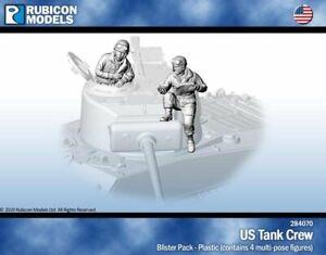 Rubicon-Models-RU-284070-Allied-US-Tank-Crew-28mm
