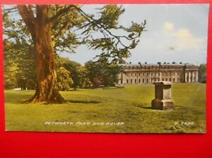 POSTCARD-SUSSEX-PETWORTH-PARK-AND-HOUSE