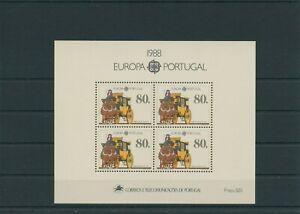Portugal-1988-Mi-Block-57-Mint-MNH-More-Shop
