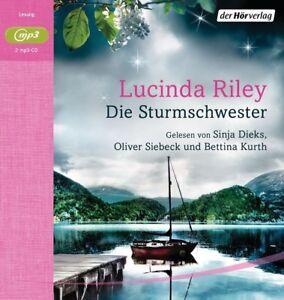 LUCINDA-RILEY-DIE-STURMSCHWESTER-DIE-SIEBEN-SCHWESTERN-2-CD-NEW