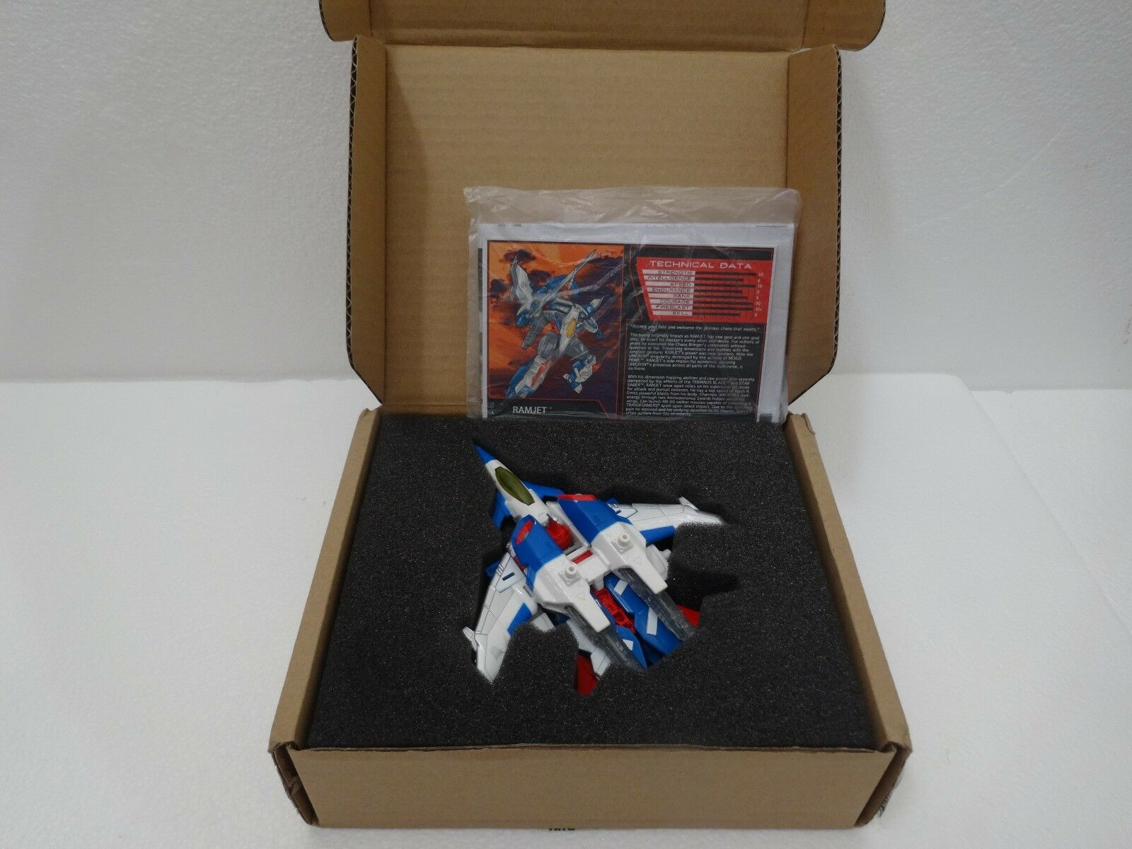 TFCC 2016 Member Exclusive Ramjet (Transformers) MIB