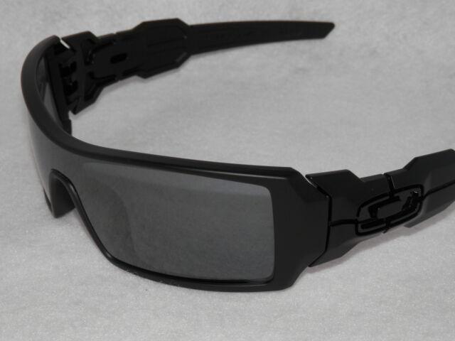 oakley oil rig matte black sunglasses 009081 ebay rh ebay com