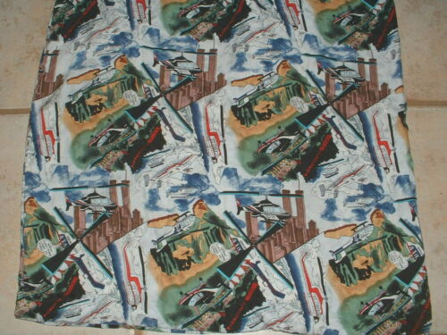 """Vintage Women's Bell Helicopter Textron Scarf 41""""x"""