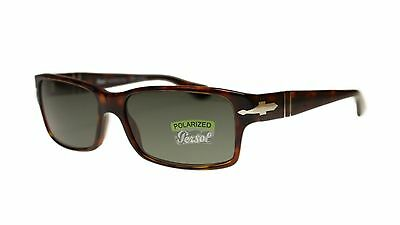 Persol Men's Sunglasses PO2803 24/58 Havana Polarized Rectangle 58mm Authentic