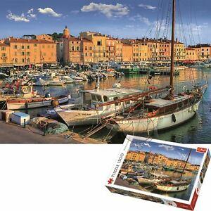 Trefl 1500 Piece Jigsaw Puzzle Old Port In Saint Tropez