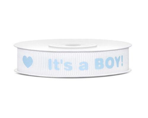 NAPPY CAKE ✿ Baby Ribbons ✿ Cut Length Satin Organza Grosgrain Bow  *Boy//Girl*
